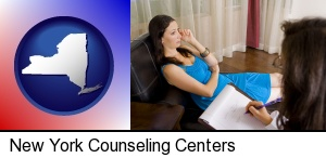 New York, New York - a counseling session